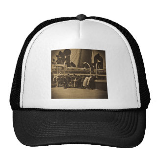 Sailing Out of New York City Vintage Trucker Hat