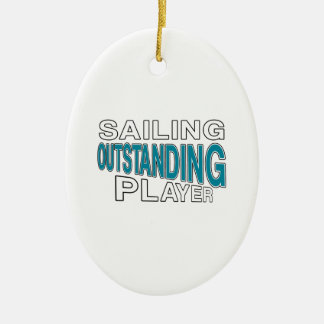 SAILING OUTSTANDING PLAYER CERAMIC ORNAMENT