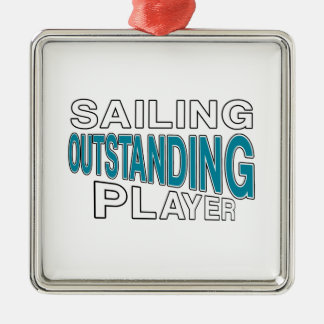 SAILING OUTSTANDING PLAYER METAL ORNAMENT