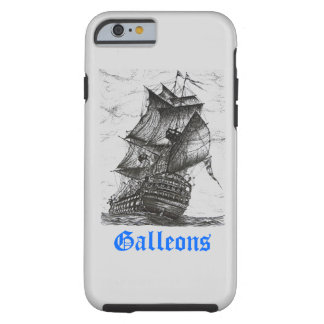Sailing Pen and Ink Drawing iPhone 6 case