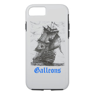 Sailing Pen and Ink Drawing iPhone 7 case