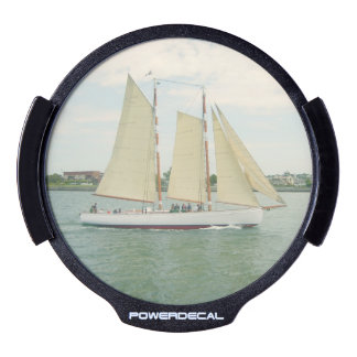 Sailing Personalize LED Window Decal