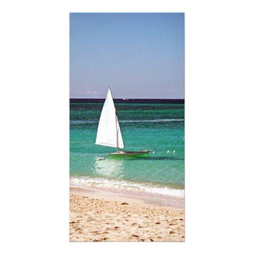 Sailing Photo Greeting Card