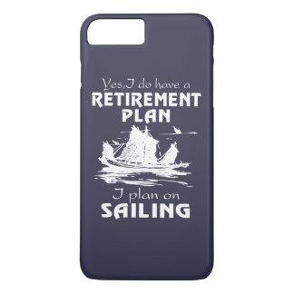 SAILING PLAN iPhone 8 PLUS/7 PLUS CASE