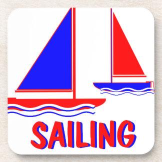 sailing png posavasos de bebidas