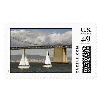 Sailing Postage Stamp