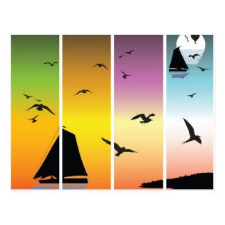Sailing Postcards
