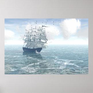 Sailing Poster Print