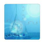 Sailing Puzzle Coaster