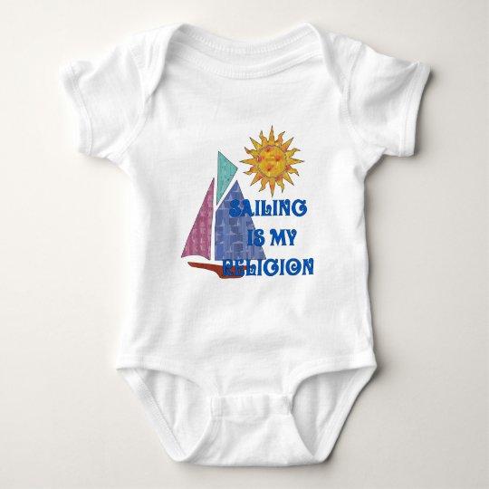 Sailing Religion Baby Bodysuit