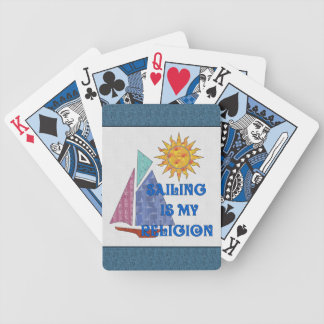 Sailing Religion Bicycle Playing Cards