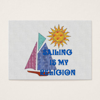 Sailing Religion Business Card