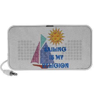 Sailing Religion Portable Speaker