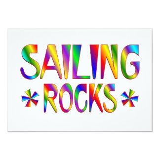 Sailing Rocks Card