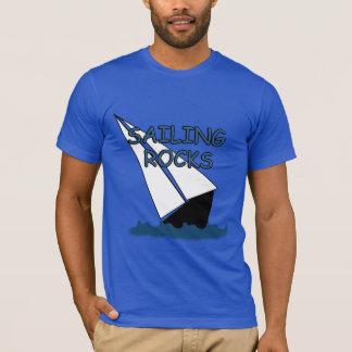 Sailing Rocks Sailboat Funny T-shirt