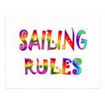 Sailing Rules Postcard