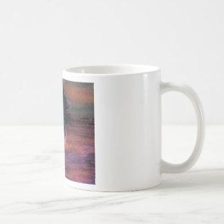 Sailing Sailboat Art Night Sailing a Quick Breeze Classic White Coffee Mug