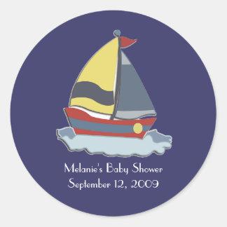 Sailing Sailboat Nautical Envelope Seals / Favors