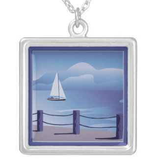 Sailing Sailboat Necklace