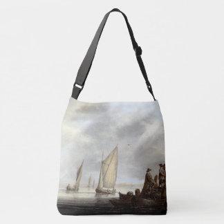 Sailing Sailboats Ocean Harbor Holland Tote Bag