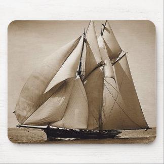 Sailing Sailing Sailing Mouse Pad