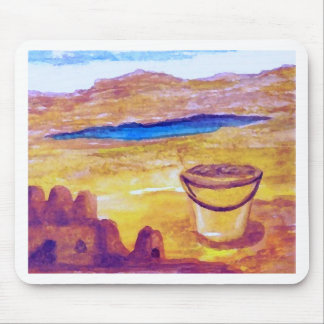 Sailing Sand Castle Moat CricketDiane Mouse Pad