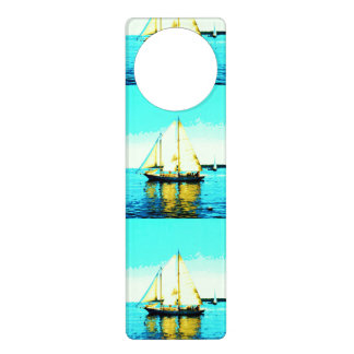 sailing schooner door hanger