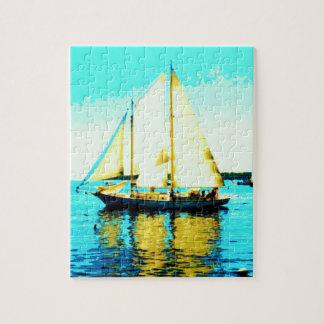 sailing schooner jigsaw puzzle