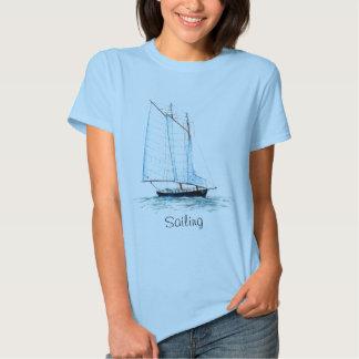 Sailing Schooner T Shirt