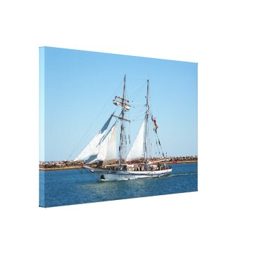 franwestphotography Sailing ship 1: One and All Canvas Print