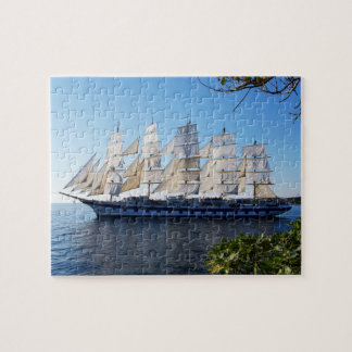 Sailing Ship at Sea Jigsaw Puzzle