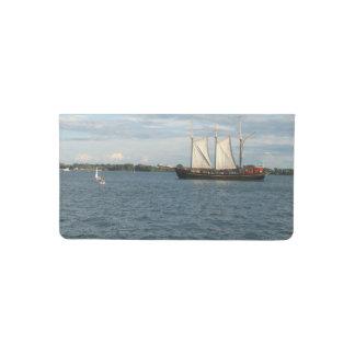 Sailing Ship Checkbook Cover