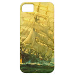 Sailing ship crosses the Atlantic iPhone 5 Cases