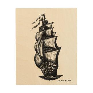 Ships Wood Wall Art | Zazzle