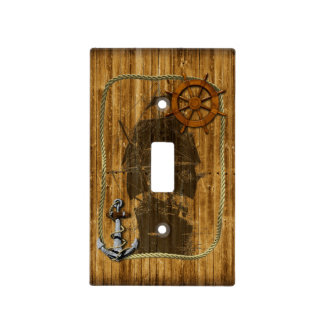 Sailing Ship Light Switch Covers