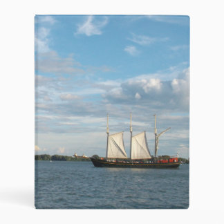 Sailing Ship Mini Binder