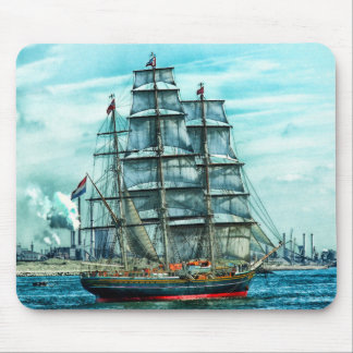 Sailing Ship Mouse Pad