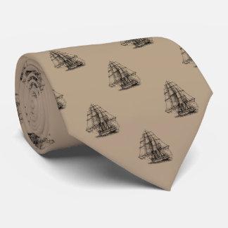 Sailing Ship Neck Tie