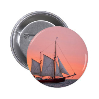 Sailing ship on the Hanse Sail in Rostock 2 Inch Round Button