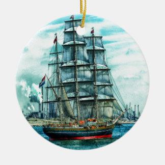 Sailing Ship Ornament