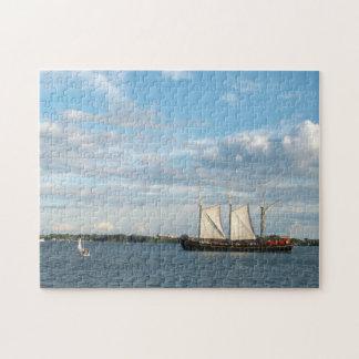 Sailing Ship Photo Puzzle Jigsaw Puzzle