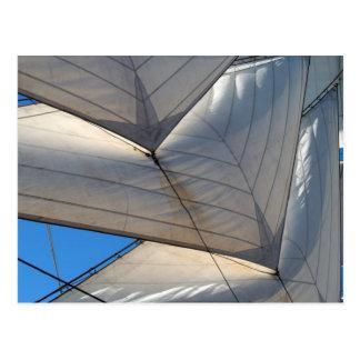 Sailing Ship Sail Postcard