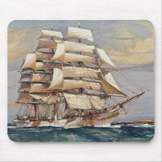 Sailing ship Thomas Stephens Mouse Pad