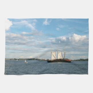 Sailing Ship Towel
