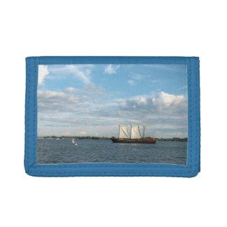 Sailing Ship Trifold Wallet