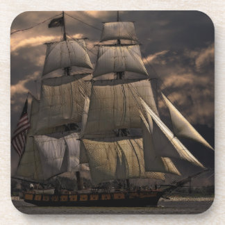 Sailing Ship Vessel Beverage Coaster