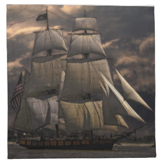 Sailing Ship Vessel Cloth Napkin