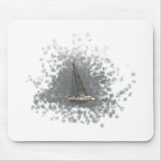 Sailing ship - Wind power Mouse Pad