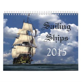 Sailing Ships 2015 Calendar