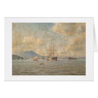 Sailing ships at Anchor (1282) Card